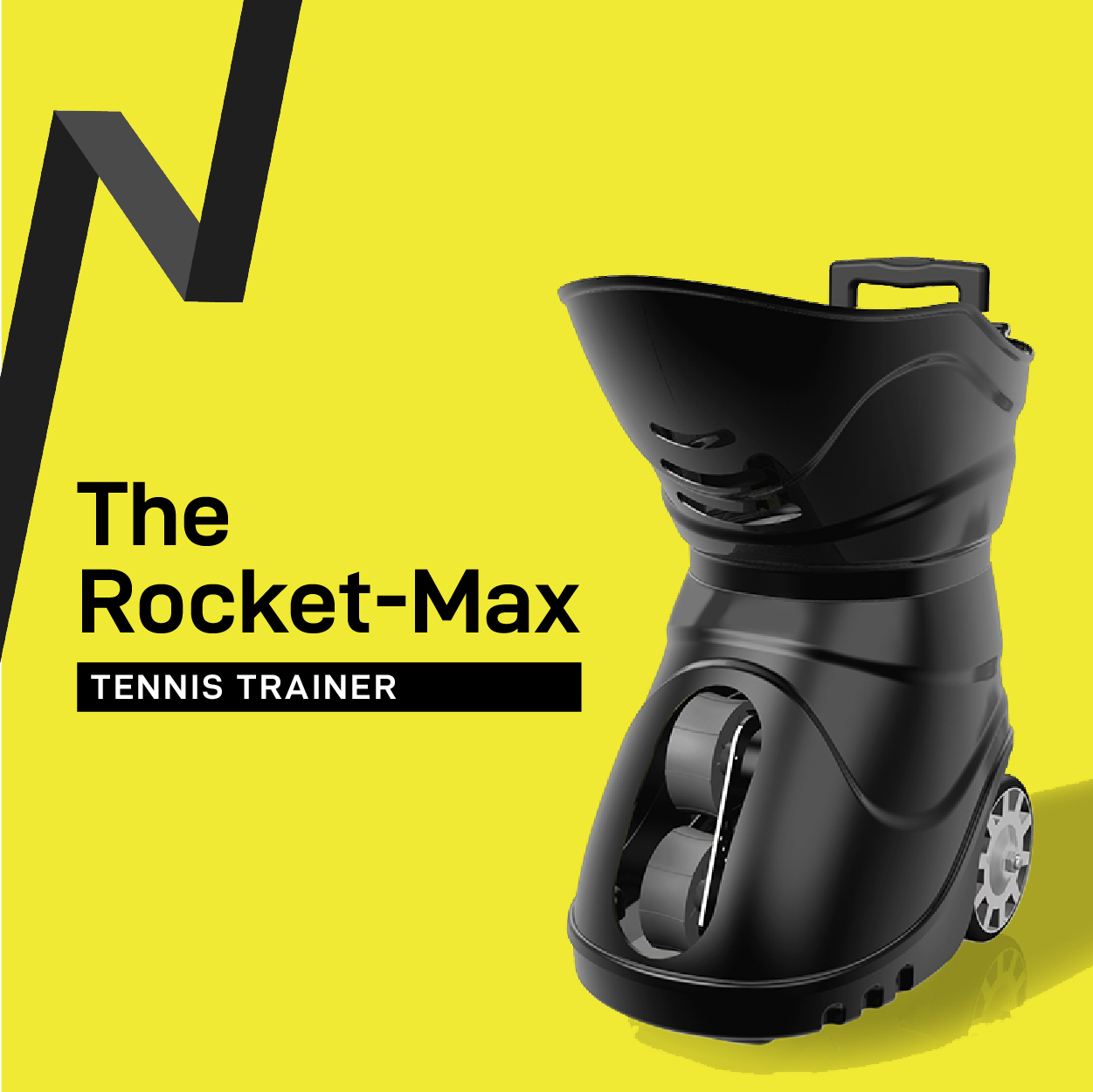 The Rocket Max Tennis Trainer