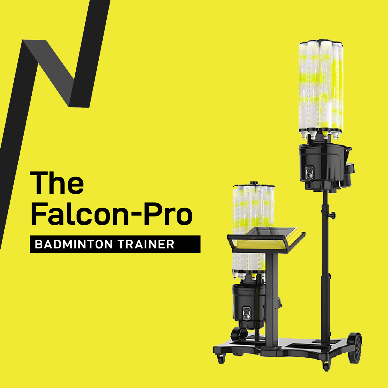 The Falcon Pro Badminton Trainer