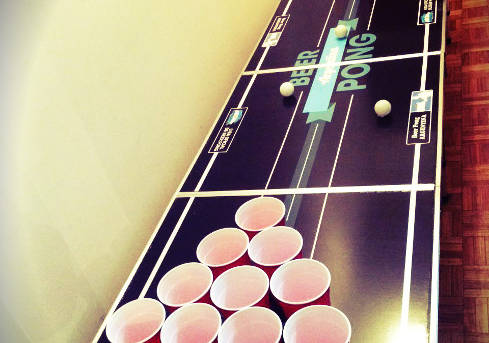 How to use 'The Challenger' for Beer Pong!